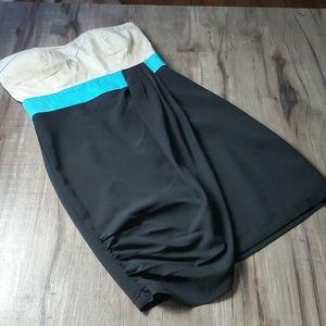 Akira Chicago Black Label colorblock dress